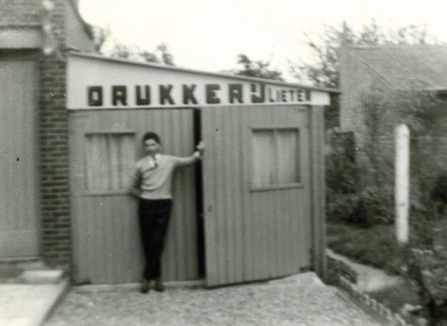 Drukkerij Lieten 1962
